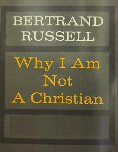 why i am not a christian essay I admit that reading a book with the title why i am not a christian on the bus while to my right a fellow traveler studied the new testament made me feel quite ill at ease.