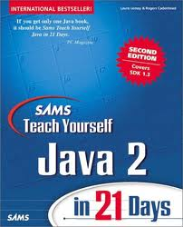 Teach Your Self Java Programming In 21 Days